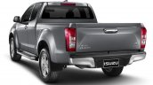 2016 Isuzu D-Max (facelift) rear three quarter launched in Thailand