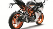 2016 KTM RC390 rear quarter unveiled at EICMA 2015