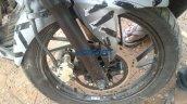 2016 TVS Apache prototype front brake spied