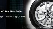 2016 Toyota Innova 16-inch alloy press images