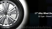 2016 Toyota Innova 17-inch alloy press images