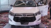 2016 Toyota Innova chrome front grille world premiere photos
