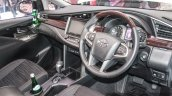 2016 Toyota Innova dashboard wood trim world premiere photos