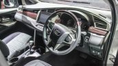 2016 Toyota Innova dual tone dashboard world premiere photos