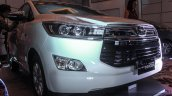 2016 Toyota Innova front bumper world premiere photos