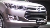 2016 Toyota Innova front fascia world premiere photos