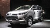 2016 Toyota Innova front quarter left world premiere photos