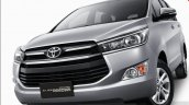 2016 Toyota Innova front quarter  press images
