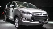 2016 Toyota Innova front quarter world premiere photos