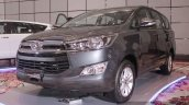 2016 Toyota Innova grey front quarter left world premiere photos