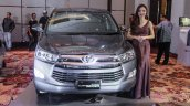 2016 Toyota Innova grey front world premiere photos