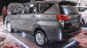 2016 Toyota Innova grey rear quarter left world premiere photos-71