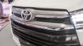 2016 Toyota Innova grille bars world premiere photos