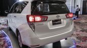 2016 Toyota Innova rear fascia world premiere photos