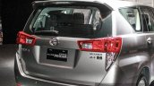 2016 Toyota Innova rear quarter fascia world premiere photos