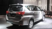 2016 Toyota Innova rear quarter right world premiere photos