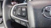 2016 Toyota Innova steering buttons left world premiere photos
