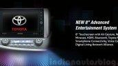 2016 Toyota Innova touchscreen press images