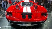 2017 Ford GT rear at the 2015 Dubai Motor Show