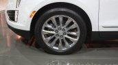 Cadillac XT5 alloy wheels at DIMS 2015