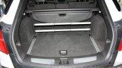 Cadillac XT5 boot space at DIMS 2015