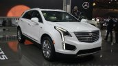 Cadillac XT5 front quarter at DIMS 2015