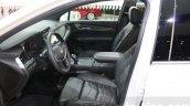 Cadillac XT5 front seats at DIMS 2015