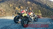 Ducati Scrambler 400 rear quarter spied for the first time