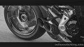 Ducati XDiavel exhaust tip EICMA 2015