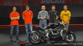 Ducati XDiavel test riders EICMA 2015