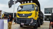 Eicher Pro 8031XM 16 Cu M tipper front quarter at EXCON 2015