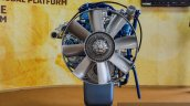Eicher VEDX8 7.7-litre CRDi engine fan at EXCON 2015