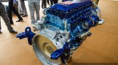 Eicher VEDX8 7.7-litre CRDi engine side quarter at EXCON 2015