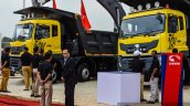 Eicher tippers at EXCON 2015