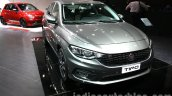 Fiat Tipo front quarters at the 2015 Dubai Motor Show