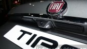 Fiat Tipo reverse camera at the 2015 Dubai Motor Show