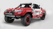 Honda Ridgeline Baja race truck front three quarter unveiled