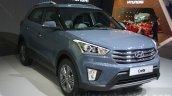 Hyundai Creta front quarter at 2015 Dubai Motor Show