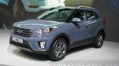 Hyundai Creta front quarters at 2015 Dubai Motor Show