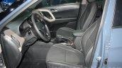 Hyundai Creta front seats at 2015 Dubai Motor Show