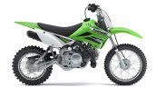 Kawasaki KLX 110 side Press shot
