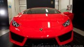 Lamborghini Huracan LP580-2 front India launch