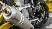 Mahindra Mojo black exhaust review