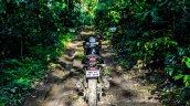 Mahindra Mojo forest rear review