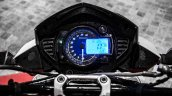 Mahindra Mojo red and white speedometer backlight blue review