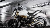 Mahindra Mojo white side review
