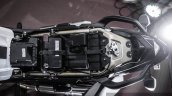 Mahindra Mojo white under seat battery review