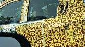Mahindra S101 Mahindra XUV100 door handle spied