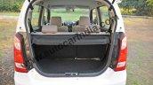 Maruti Wagon R AMT boot space photo