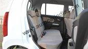 Maruti Wagon R AMT rear seat legroom photo